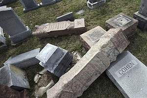 Anti-Semitic Incidents Up 86 Percent Compared With Same T...