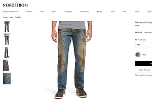 The High Price Of Fake Authenticity: $425 'Muddy' Jeans Inspire Mockery