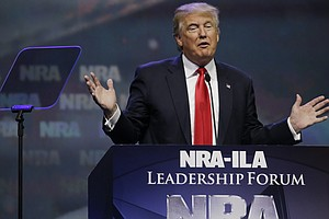 Trump To Be First Sitting President Since Reagan To Address NRA