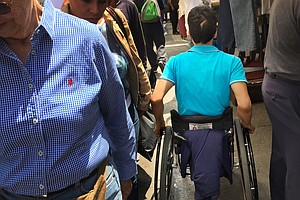 Helping Wheelchair Users Navigate Mexico City's Hectic St...
