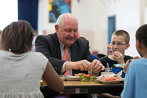 More Salt In School Lunch, Less Nutrition Info On Menus: Trump Rolls Back Foo...