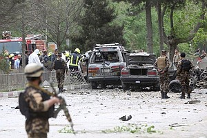 ISIS Claims Responsibility For Blast In Kabul That Kills ...