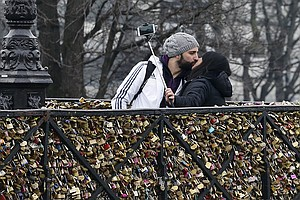 Love For Sale: Famed 'Love Locks' Of Paris Bridges To Be Sold At Auction