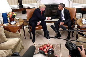 Obama Warned Trump About Michael Flynn During Oval Office...