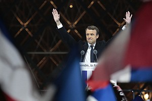 Emmanuel Macron Declared Next French President