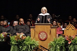WATCH: Betsy DeVos Speaks Over Torrent Of Boos During Bet...