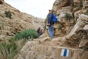 For Palestinian Hikers In West Bank, A Chance To Enjoy Nature And Escape Tens...