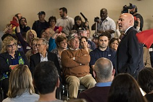 Hostile Town Hall For Congressman Who Helped Save GOP Health Care Bill