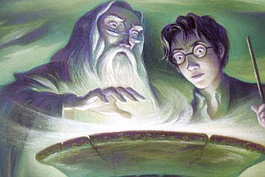 Harry Potter And The Burgled Prequel: Rare, Handwritten C...