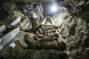 PHOTOS: 17 Mummies Unearthed In Egypt