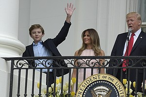 Like Most White House Kids, Barron Trump Will Go To Private School
