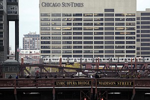 'Chicago Tribune' Parent Company Is Trying To Buy The 'Ch...
