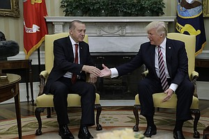 Turkish Leader Calls Trump His 'Dear Friend,' Despite Decision To Arm Syrian ...