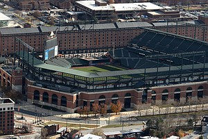Baltimore's Pro Stadiums Are Rescued From Lien Sale; Over...
