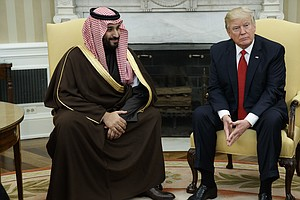 President Trump's First Foreign Trip Will Include Red-Carpet Welcome In Saudi...