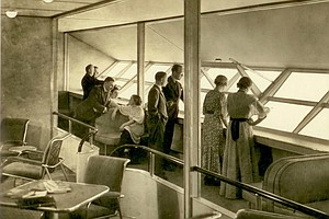 PHOTOS: When The Hindenburg Was The Height Of Luxe In-Flight Dining