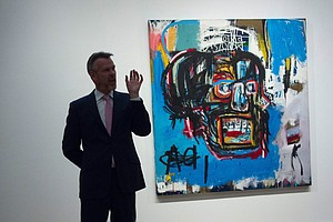 At $110.5 Million, Basquiat Painting Becomes Priciest Wor...