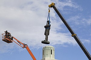 With Lee Statue's Removal, Another Battle Of New Orleans Comes To A Close