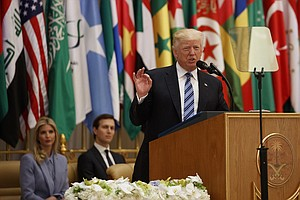 In Saudi Arabia, Trump Says Fight Against Terrorism A 'Battle Between Good An...