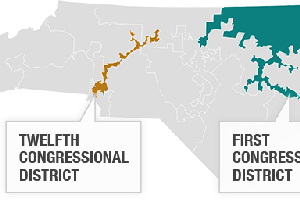 Supreme Court Rejects 2 Congressional Districts In North ...