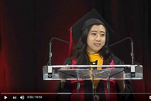 Chinese Student's Commencement Speech In U.S. Isn't Going...