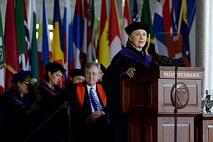 In Commencement Speech, Hillary Clinton Jabs Trump Administration