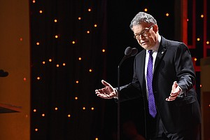 Sen. Al Franken Embraces 'The Funny' Again In New Book