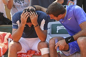 A Player Falls Injured At The French Open, And Compassion...