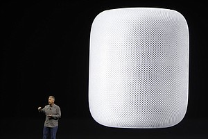 Apple Joins Smart-Speaker Race With Music-Focused 'HomePod'