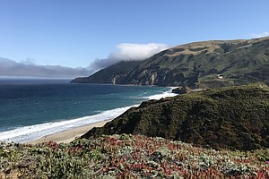 Commuting By Foot: Big Sur Residents Struggle With Life A...