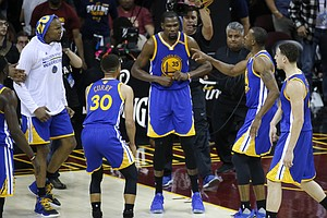 Victory In Cleveland Puts Warriors 1 Win From 16-0 Streak To NBA Title