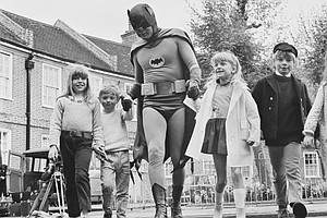 Adam West, Who Played The Dark Knight At His Brightest, D...