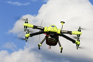 Could Drones Help Save People In Cardiac Arrest?
