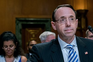 Rosenstein Says He Wouldn't Fire Special Counsel Mueller Without Good Cause