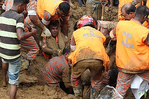 Landslides And Floods Kill Scores Of People In Bangladesh...