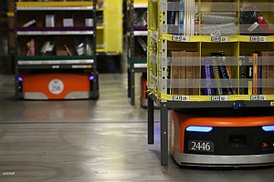 Online Retail Boom Means More Warehouse Workers, And Robo...