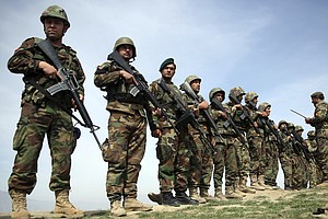 Botched Choice For Afghan Army Uniforms Wasted Tens Of Mi...