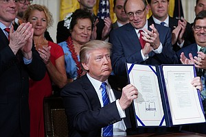 Despite Claims To Contrary, Trump Has Signed No Major Law...