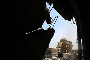Iraq Reclaims Historic Mosul Mosque, Saying ISIS 'Calipha...