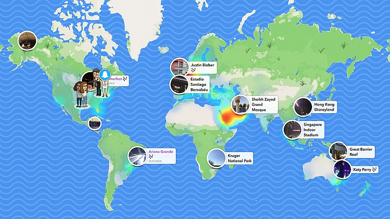 Can Snapchat's New 'Snap Map' Bring The World Closer Together? | KPBS