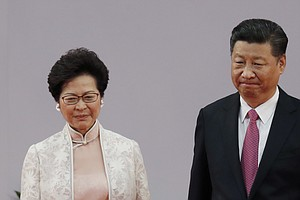 Chinese Leader Warns Hong Kong Not To Buck Beijing's Authority