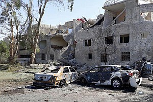 Several Killed In Damascus Car Bombings Despite Authorities 'Foiling' Part Of...