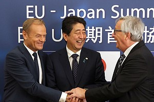 EU And Japan Strike Trade Deal, Call It 'Strong Message T...