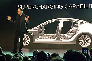 As First Model 3 Rolls Off The Line, Can Tesla Sustain Mo...