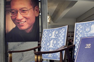 Chinese Nobel Peace Laureate And Human Rights Advocate Li...
