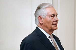 Tillerson Arrives In Kuwait, Opening Days-Long Dialogue O...