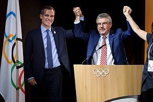 IOC Expects To Award Paris And Los Angeles 2024 And 2028 Olympics