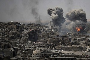 Amnesty Says U.S.-Led Coalition May Have Committed War Cr...