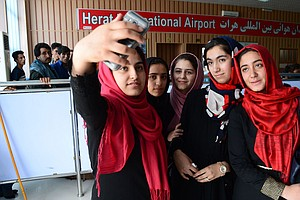 Afghan Girls Robotics Team Allowed To Enter U.S. For Comp...