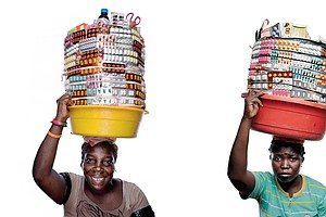 PHOTOS: The Sidewalk Pill Peddlers Of Port-Au-Prince